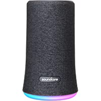 Portable Bluetooth Speaker, Soundcore Flare Wireless Speaker by Anker, Waterproof Party Speaker with 360° Sound, Enhanced Bass & Ambient LED Light, IP67 Dustproof & Waterproof and 12-hour Battery Life