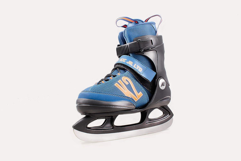 K2 Merlin Ice Skates Schlittschuhe für Kinder größenverstellbar 29-34 Größe S