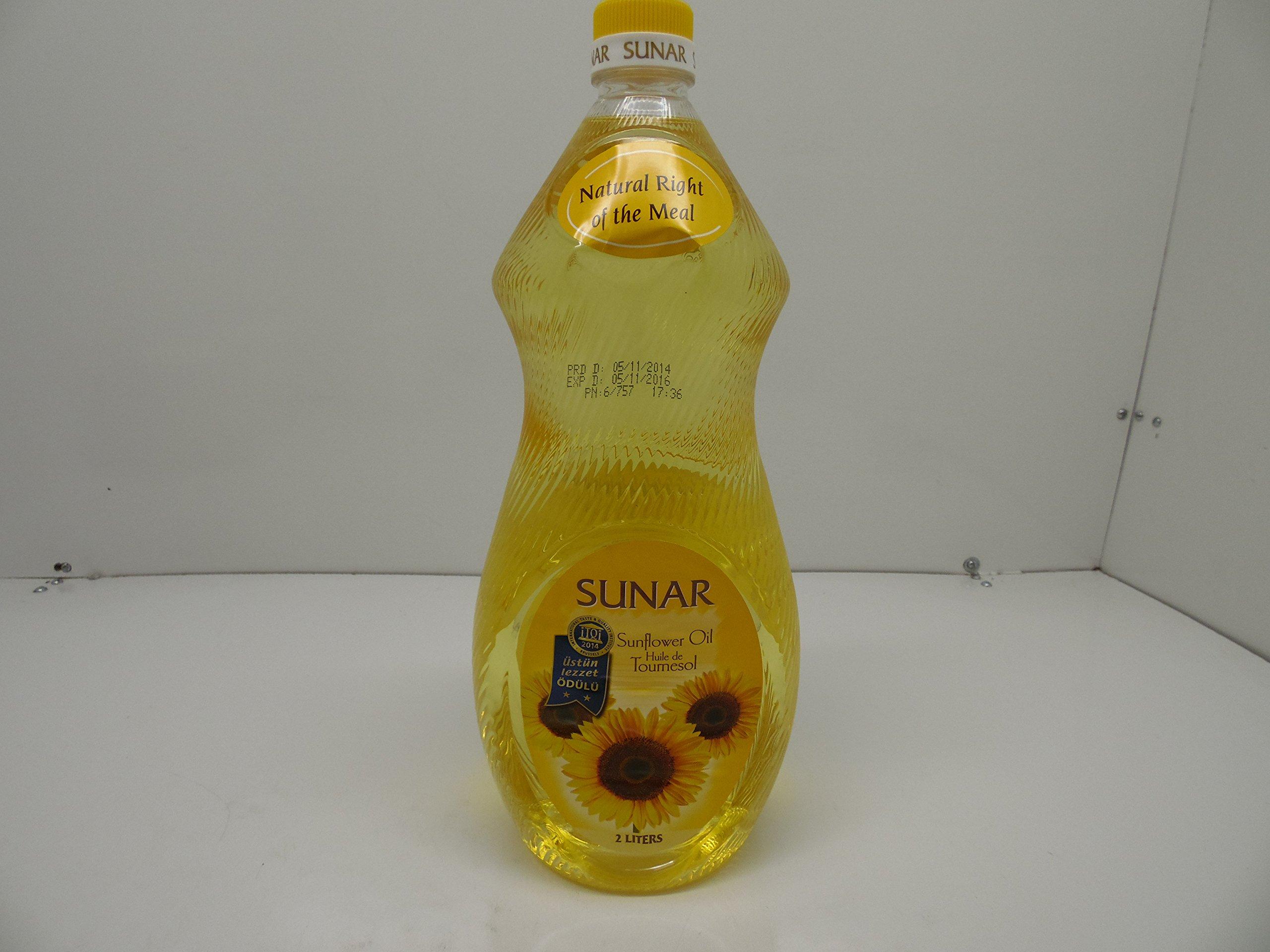 Sunar Turkish Sunflower Oil 68 oz (2lt)