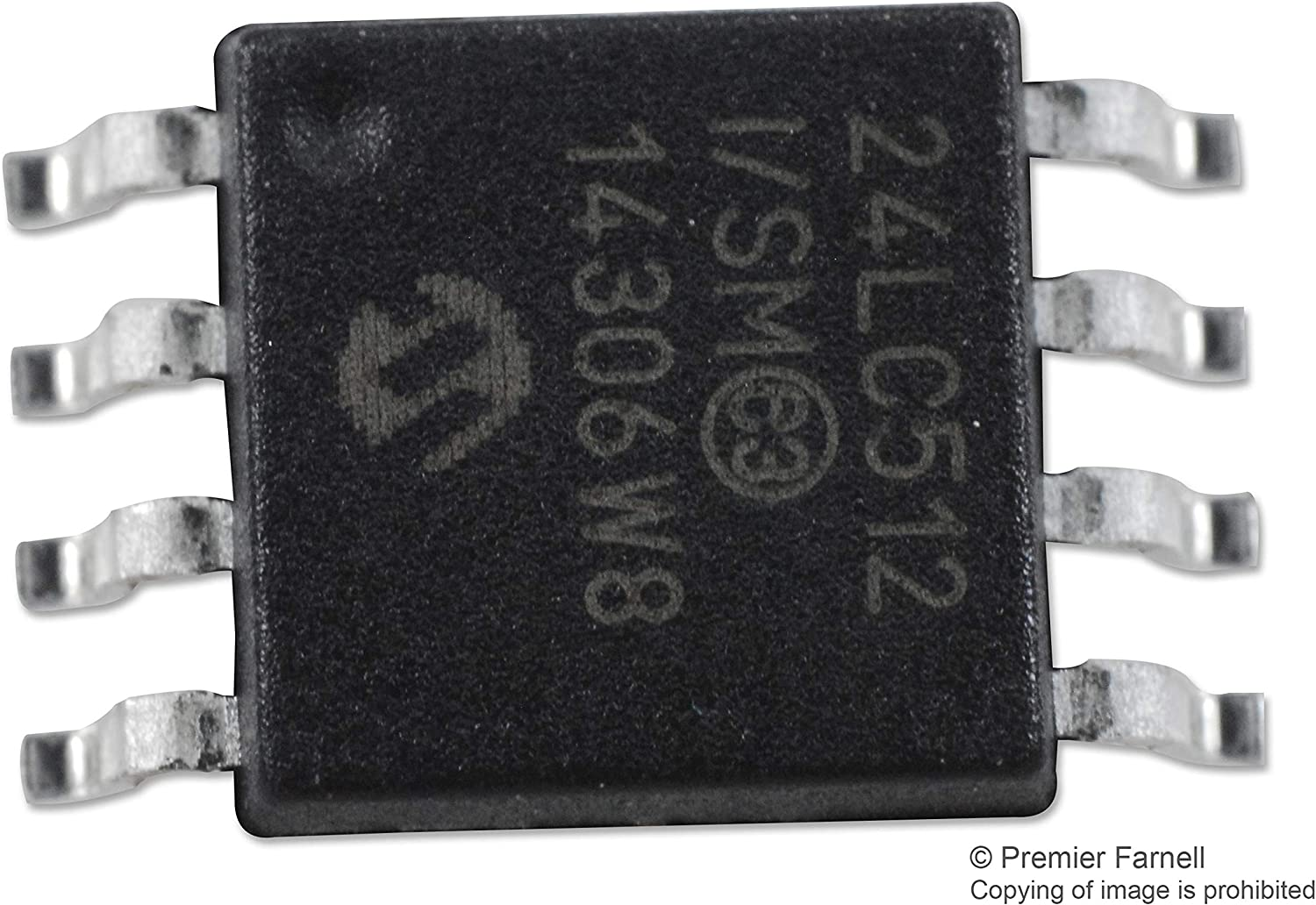 Serial I2C Pack of 20 8 Pins 512 Kbit EEPROM 400 kHz 2-Wire 24LC512-I//SMG 64K x 8bit SOIJ 24LC512-I//SMG