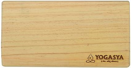 Buy Yogasya - Yoga Bricks   Blocks - Yoga Props - Wooden - Provides ... 01efc0fb50a6