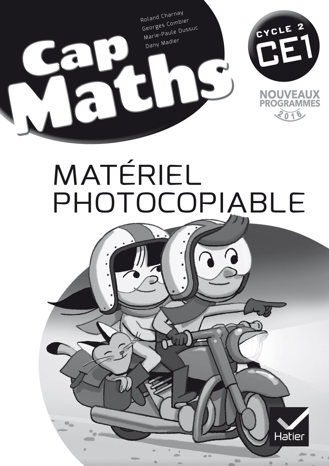 Cap Maths CE1 cycle 2 - éd. 2016 - Matériel photocopiable (French Edition) ebook