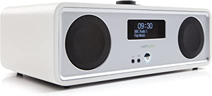 Ruark Audio R2 Mk3 - Equipo de Sonido Compacto estéreo, Color Blanco (Soft White)