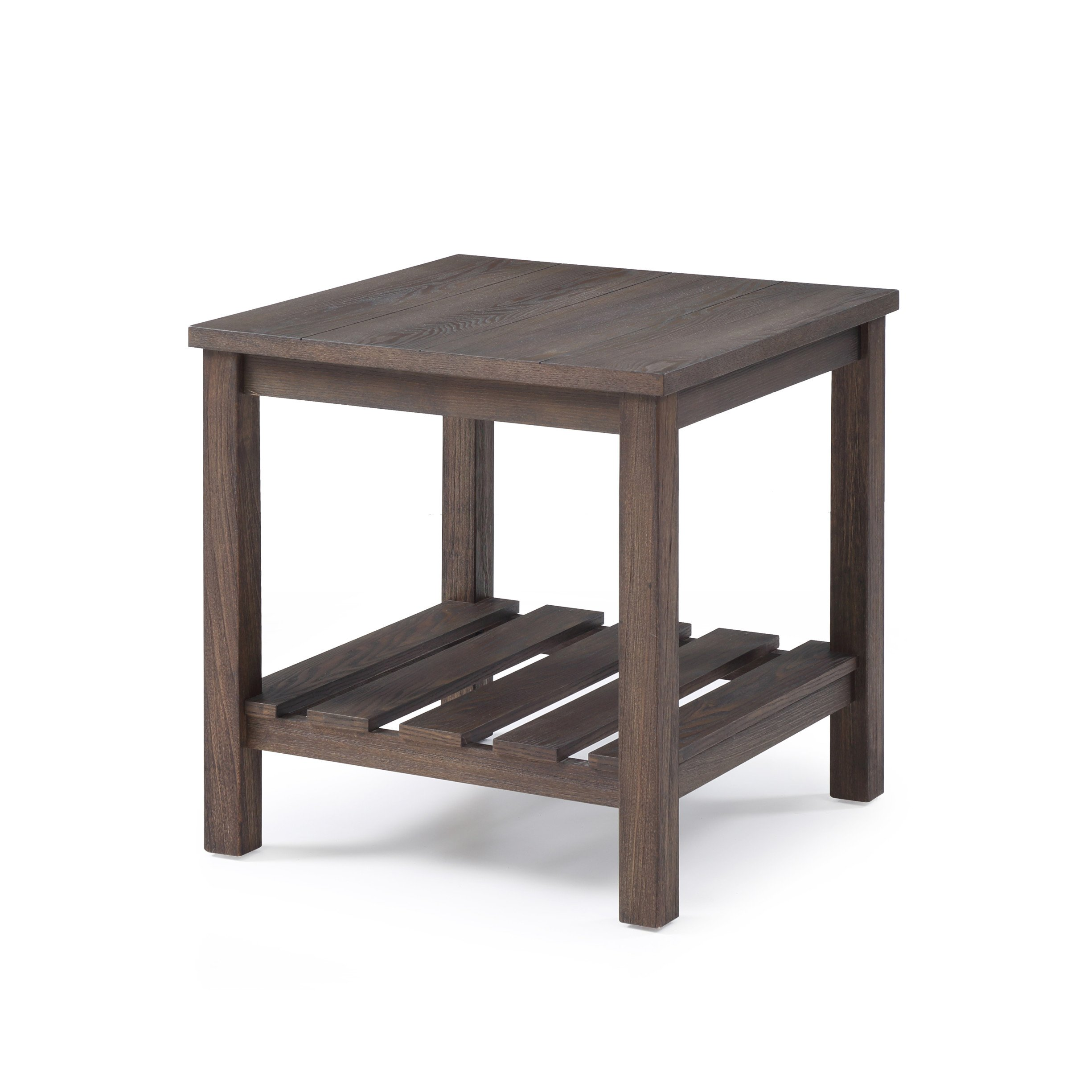 Emerald Home Furnishings T805-01 Wood Haven End Table Occasional Collection, Standard, Dark Brown by Emerald Home Furnishings