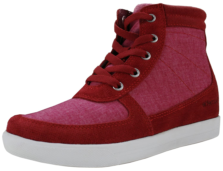 ee3e832e8 Amazon.com | Burnetie Women's Amanda Lace-up High Top Hidden Wedge Sneaker  | Fashion Sneakers