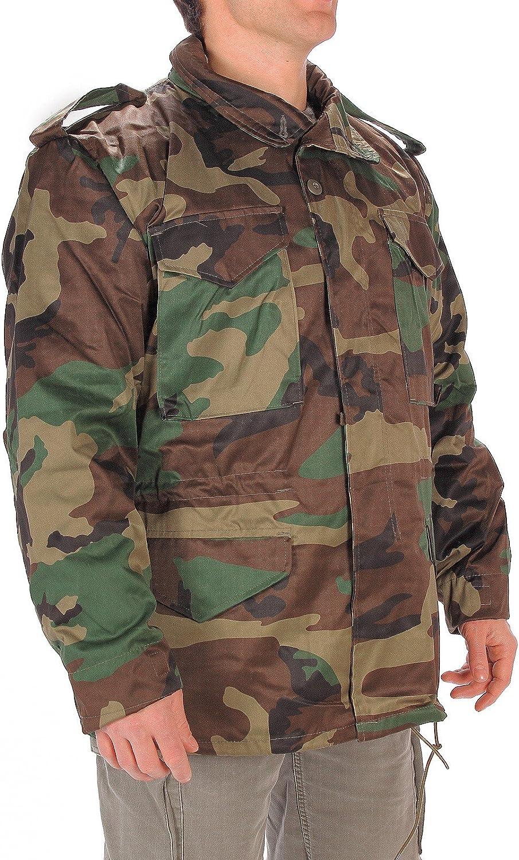 Chaqueta de camuflaje Mil-Tec US M65 Woodland