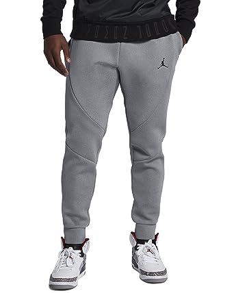 7b3134e7b8 Nike Jordan Flight Tech Fleece Pants Mens Carbon Heather/Black - Grey -:  Amazon.co.uk: Clothing
