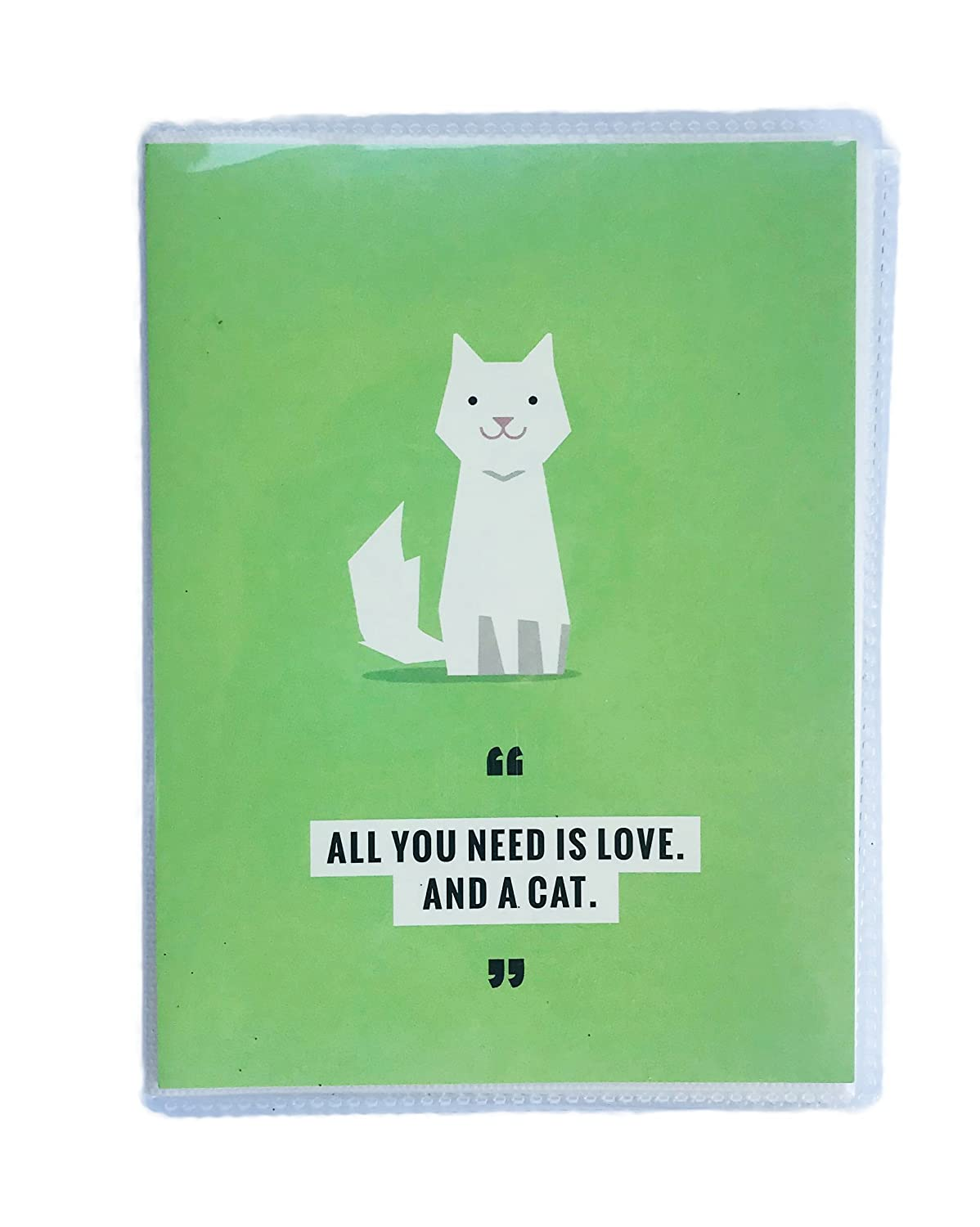 Recollections Pet Themed Photo Album Book (Green, Cat) MSPCI