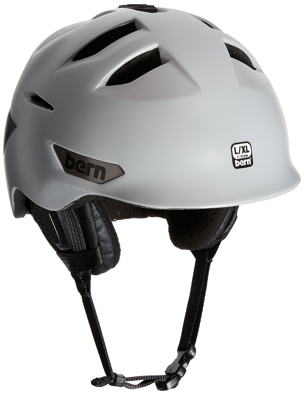 卸し売り購入 Bernキングストン雪ヘルメット Grey B011QI477G L-XL|Satin Light Light Grey L-XL|Satin Satin Light Grey L-XL, 北葛飾郡:87ab59ff --- a0267596.xsph.ru