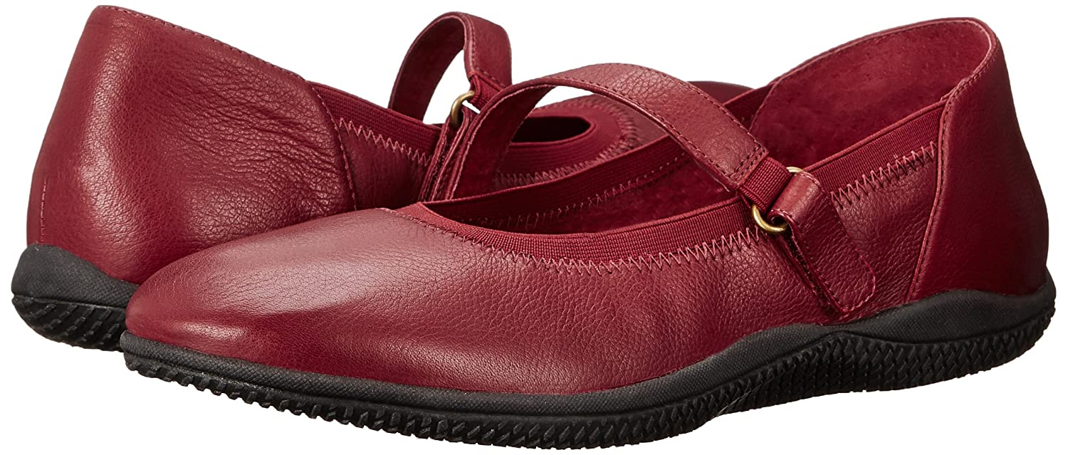 SoftWalk Women's Hollis Flat B00S012SVA 7 W US|Dark Red