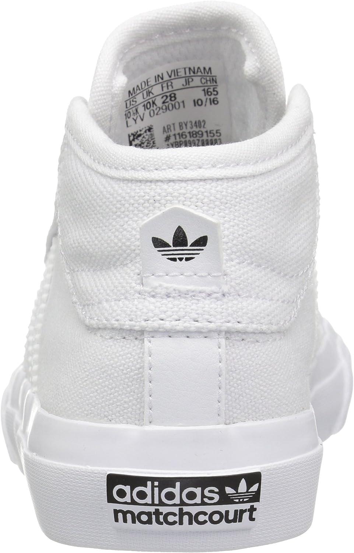 Burgundy adidas MATCHCOURT MID Sneakers Boys