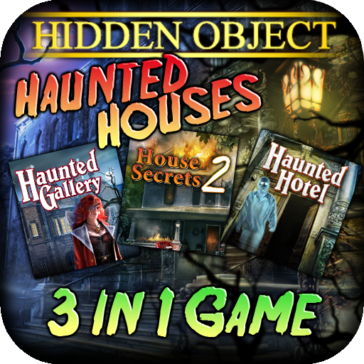 Hidden Object: 3-in-1 Haunted Bundle (Halloween Search And Find Games)