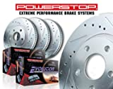 Power Stop K5933 Front and Rear One-Click Brake Kit