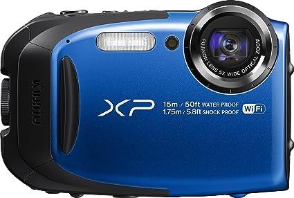 amazon com fujifilm finepix xp80 waterproof digital camera with