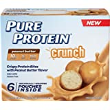 Pure Protein Crunch Peanut Butter, 1.2 Ounce, 6 Count