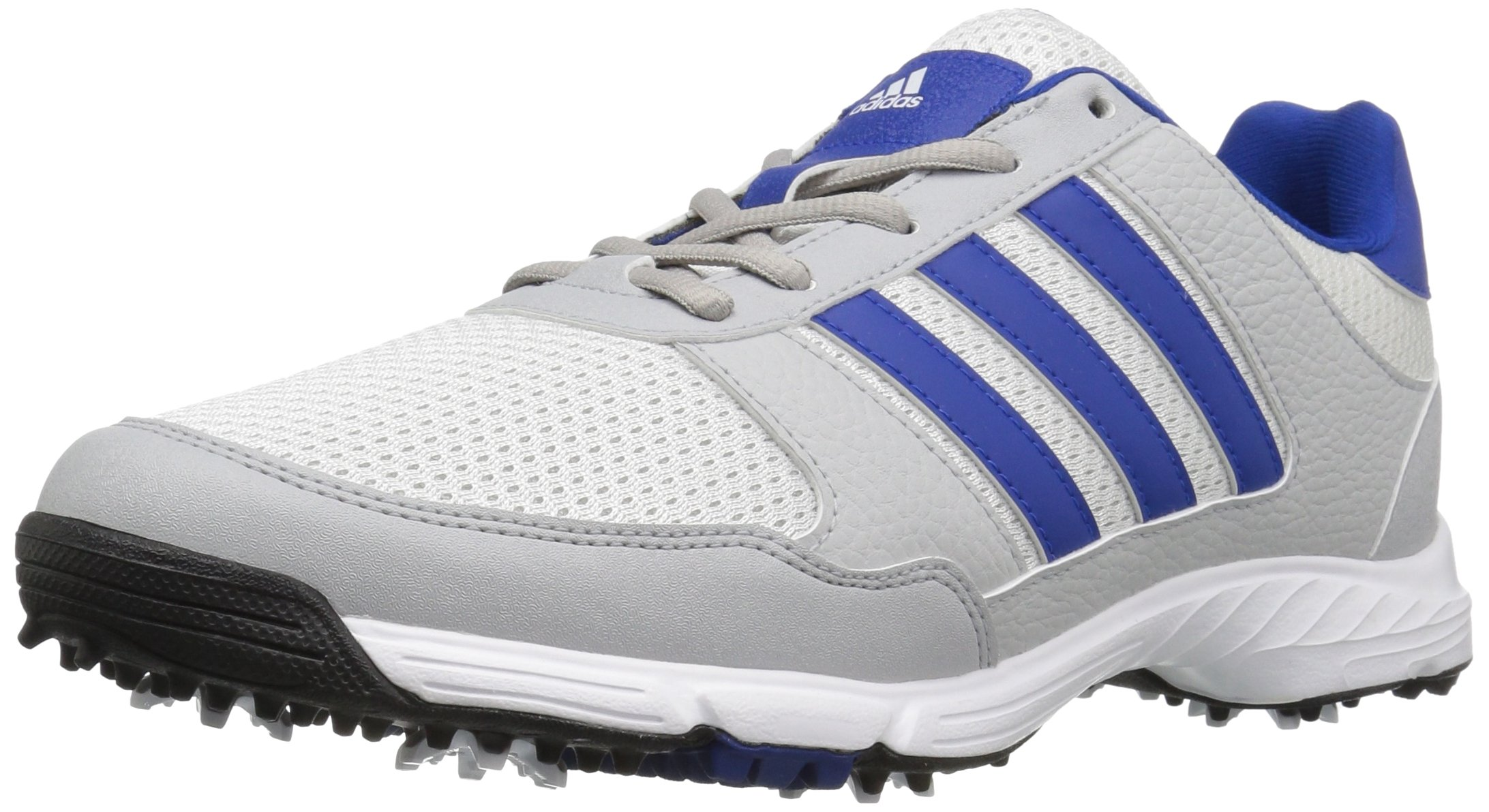 adidas Men's Tech Response Golf Shoe, White/Royal, 10.5 W US by adidas