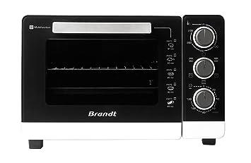 Brandt FC265MB - Horno (Pequeño, Mesa, Eléctrico, Negro, Color blanco,