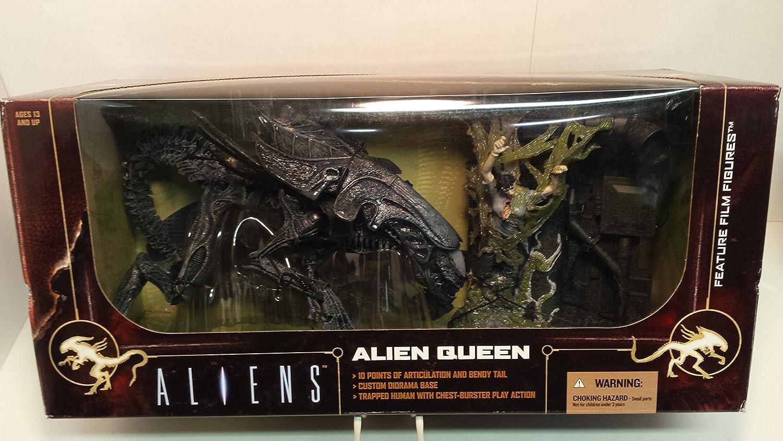 McFarlane Toys 787926175301 - Reina Alien Deluxe Box (a partir de 6 Maniacs película) [importado de Alemania]