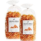nu3 Low Carb Rote Linsen Nudeln / Pasta - 500 g Packung - Red Lentil Spirelli aus Hülsenfrüchten, Vegan & Glutenfrei - weniger Kohlenhydrate mehr Protein