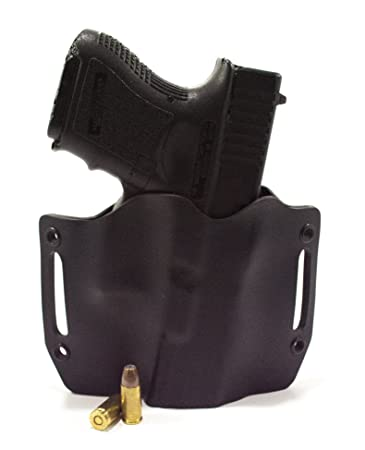 Infused Kydex USA: Black OWB Holsters with Built in Belt Loops for More  Than 150 Different Handguns  Left & Right Versions Available