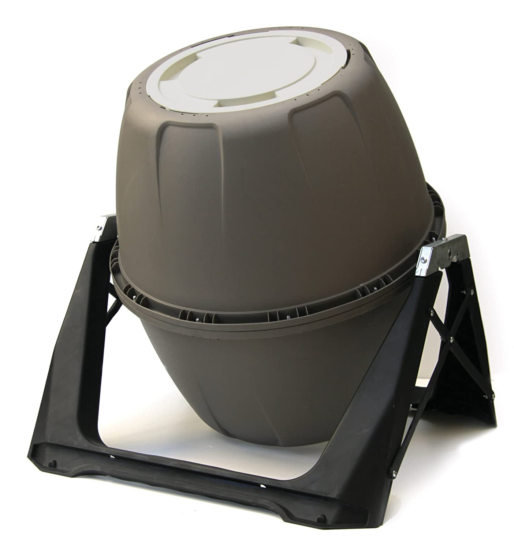 UPP Trommel-Komposter 180L Kompostierer | Composter | Interne Belüftung | Sicher vor Ungeziefer (Grün) UPP Products