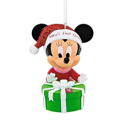 Hallmark Disney Minnie Mouse Baby's First Christmas Ornaments - Amazon.com: Hallmark Disney Minnie Mouse Baby's First Christmas