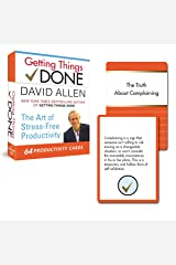 Getting Things Done: 64 Productivity Cards: The Art of Stress-Free Productivity Cards