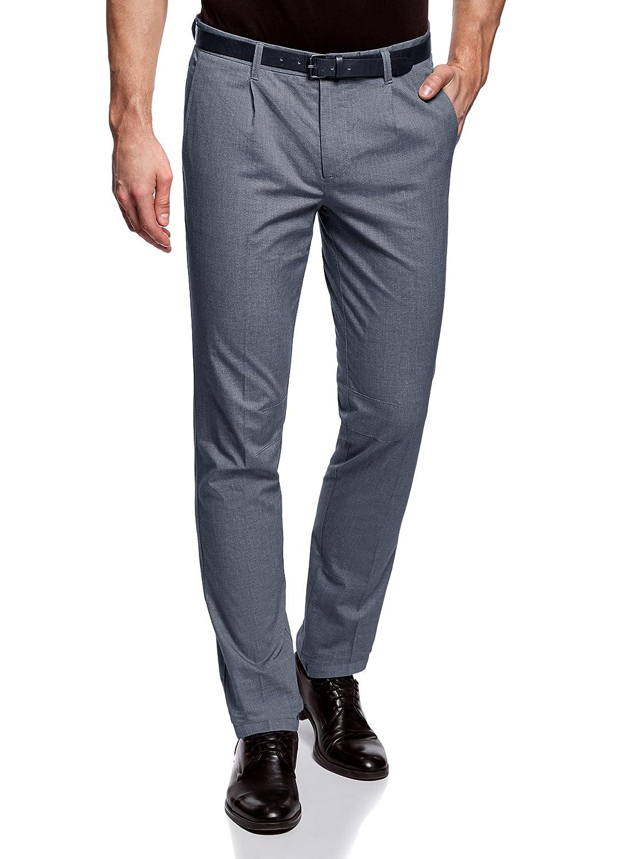 oodji Ultra Hombre Pantalones Ligeros de Algodón: Amazon.es: Ropa y accesorios