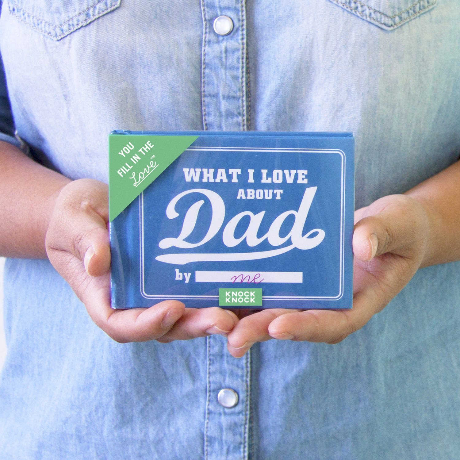 Knock Knock What I Love about Dad Fill In The Love Journal: Knock ...