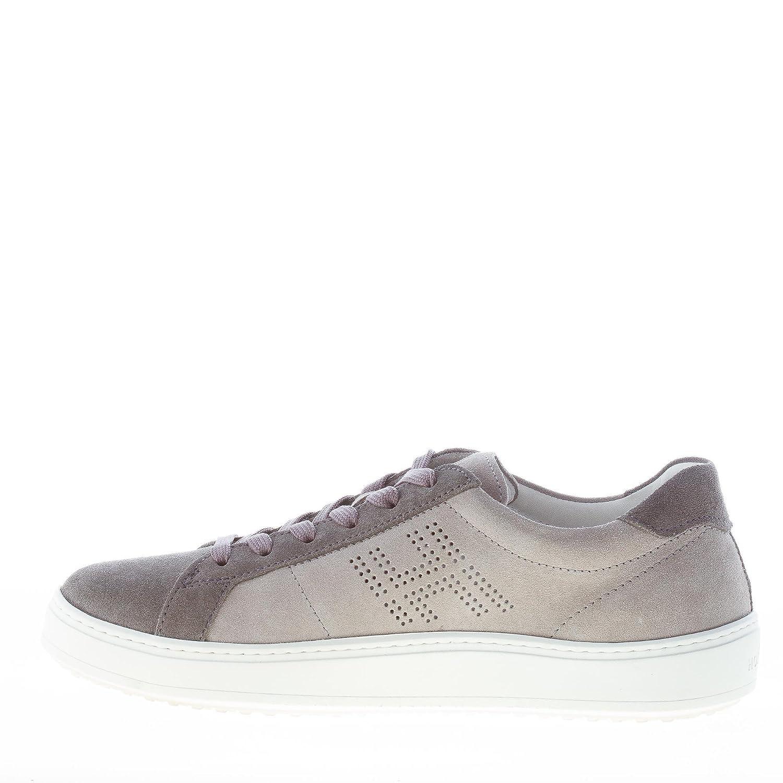 Hogan Uomo Sneaker H302 in camoscio Grigio più Piombo Color Grigio Size 41  EU (7 UK)  Amazon.it  Scarpe e borse 8dcdf1d97c8