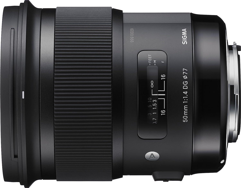 Sigma 311101 50mm F1 4 Dg Hsm Art Lens For Canon Black Amazon Co Uk Camera Photo