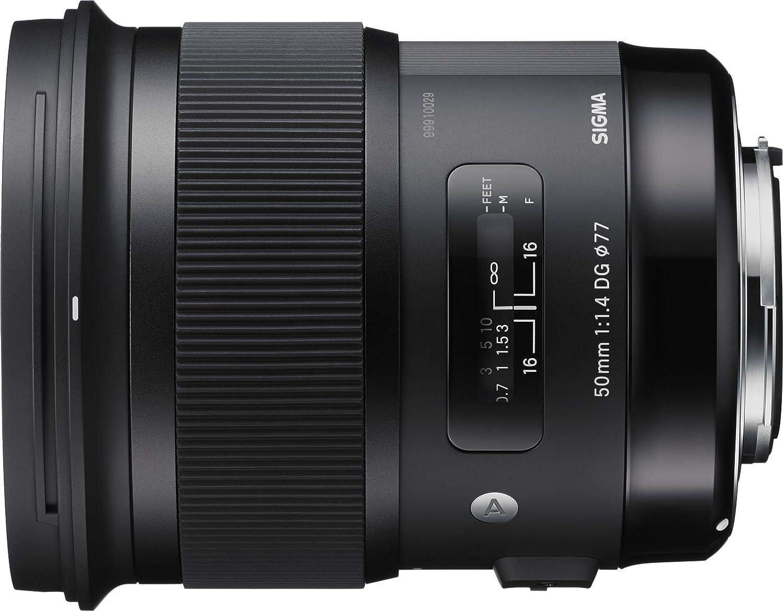 45c48e1f2c Amazon.com : Sigma 50mm F1.4 ART DG HSM Lens for Sony A : Camera & Photo