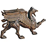 Design Toscano The Growling Griffin Foundry Iron Doorstop