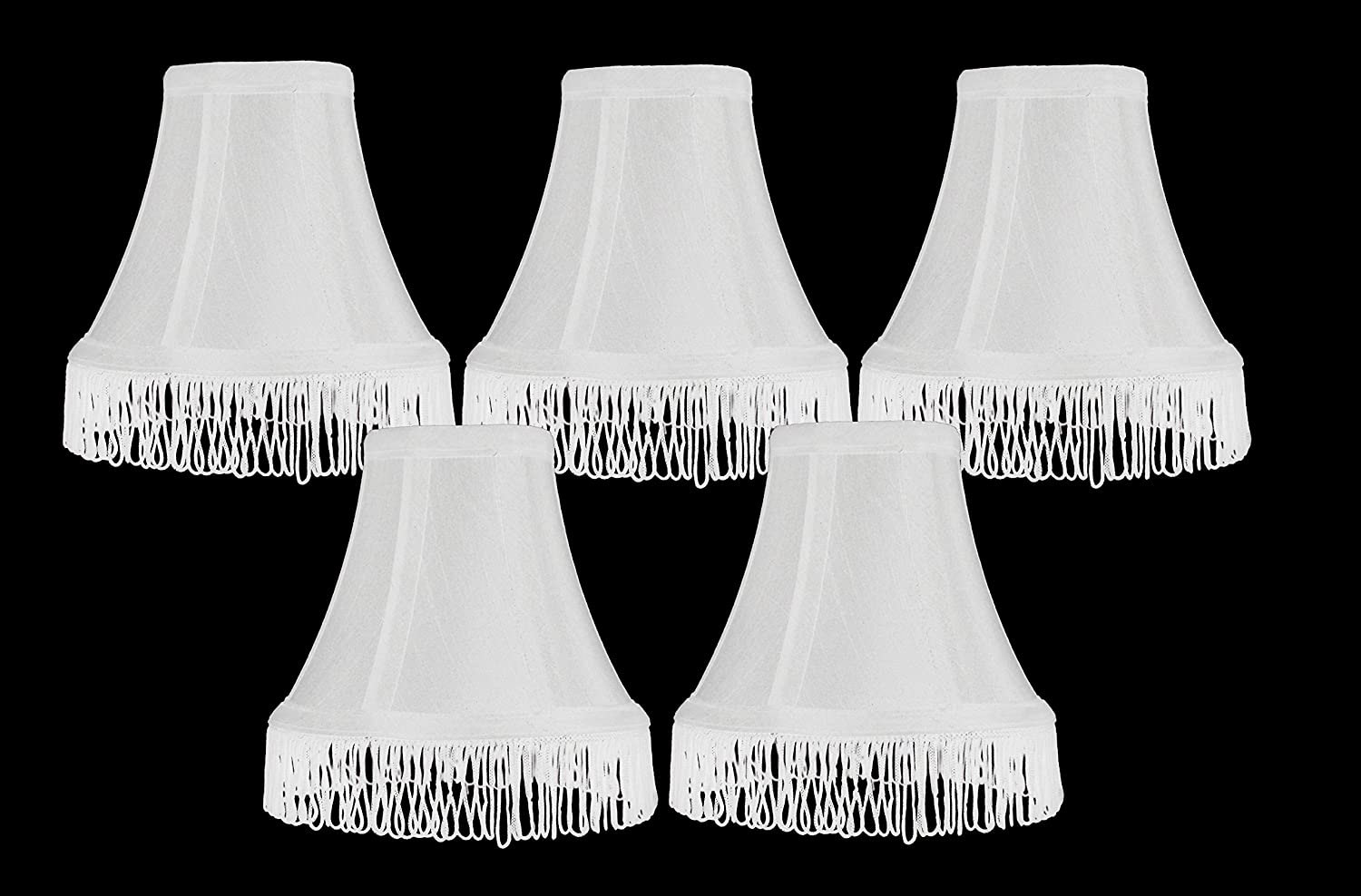 Urbanest Set of 5 Chandelier Mini Lamp Shade 5 inch, Bell