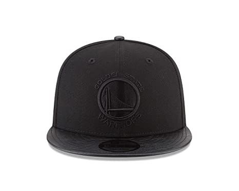 huge discount c015b 3671f Image Unavailable. Image not available for. Color  New Era Golden State  Warriors Black on Black Camo Pressed 9FIFTY Snap Back Hat