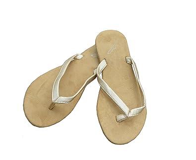 c0cbcc39ea51 Your Solemates Flip N  Folds Foldable Portable Flip Flops w Canvas Tote Bag  Gold