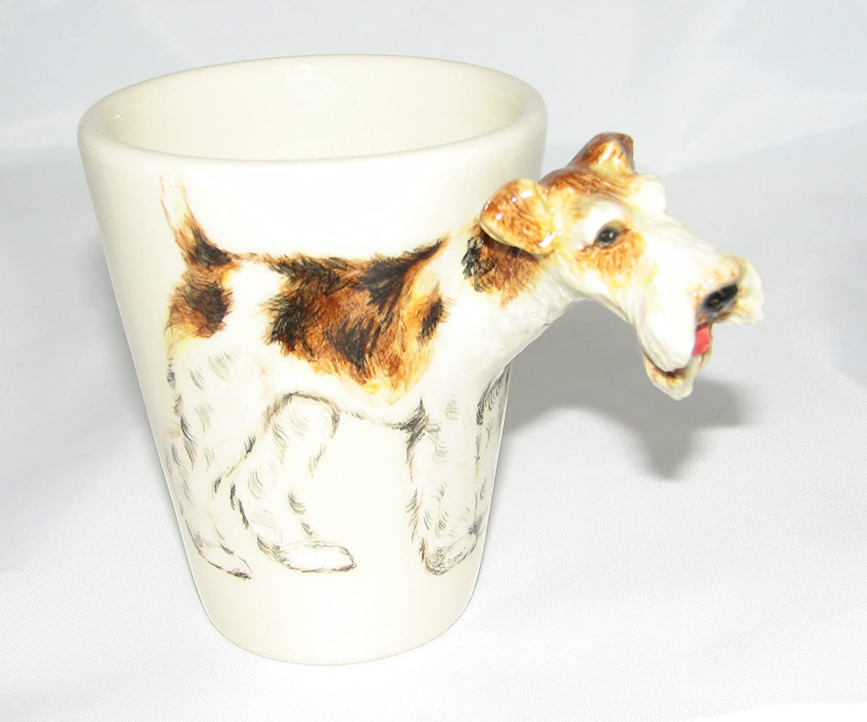 Amazon.com: Wire Fox Terrier Mug: Kitchen & Dining
