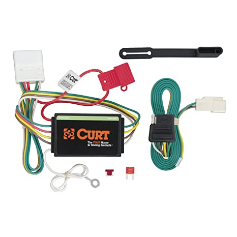 amazon com curt 56217 vehicle side custom 4 pin trailer wiring rh amazon com