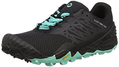 Merrell All Out Terra Light Women's Walking Shoes - SS16 - 6.5 - Black