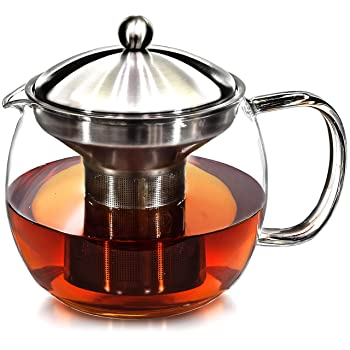 Willow & Everett Teapot with Infuser and Warmer