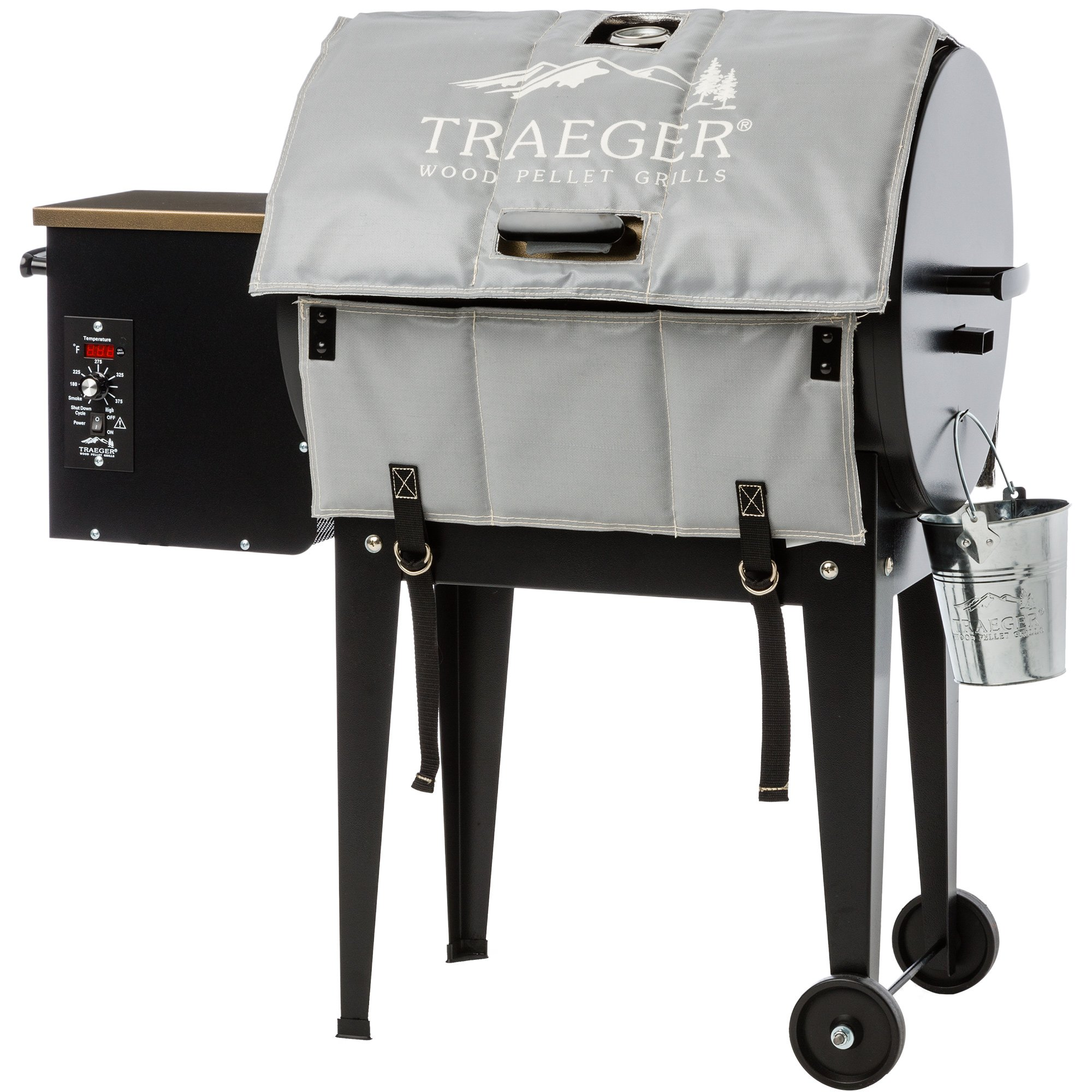 Traeger BAC346 20 Series BBQ Grill Insulation Blanket for Winter Cooking by Traeger