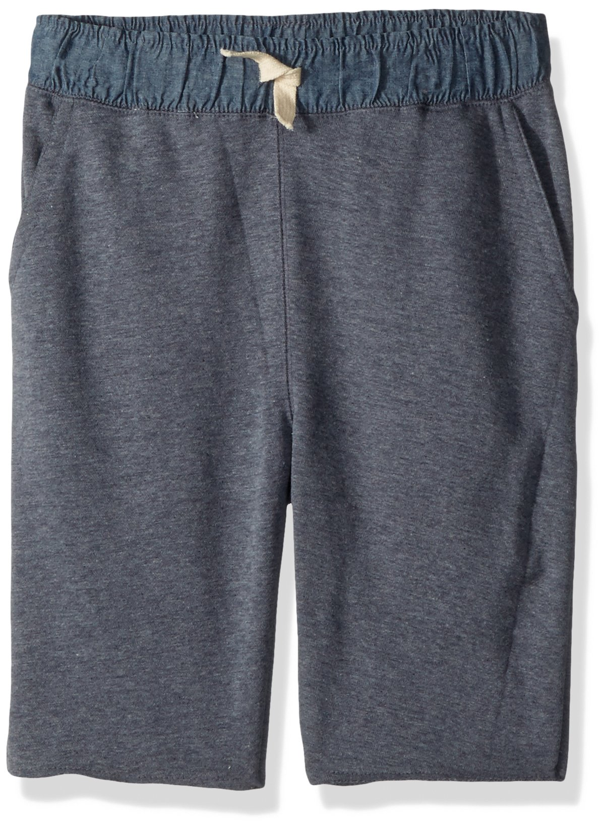 Lucky Brand Big Boys' Pull on Shorts, French Terry Peacoat, Medium (10/12)