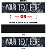 Custom Uniform Name Tapes, 50 Fabrics to choose from! Made in the USA! SHIPS UNDER 24 HRS!