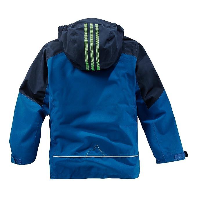 adidas Performance Kinder Doppeljacke blau 140: