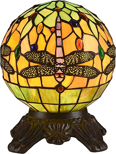 Chloe Lighting Tiffany Style Dragonfly 1-light Dark Bronze Table Lamp