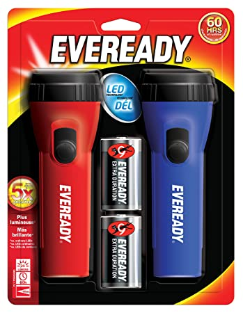 Review Eveready EVEL152S Flashlight, 2-Pack