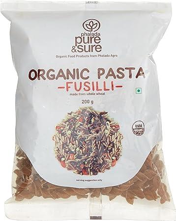 Pure & Sure Organic Pasta, Fusilli, 200g