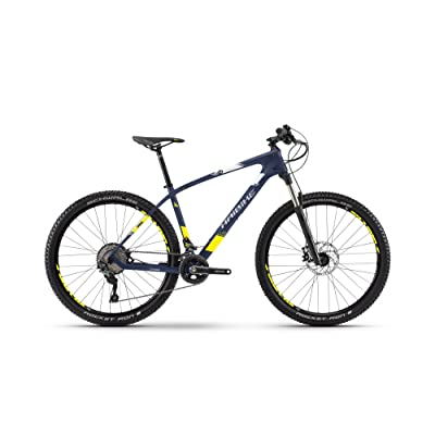 "'Haibike Greed hardseven 7.0 Carbon Vélo 27,5 ""22-velocità taille 50 Bleu/Jaune 2018 (VTT ammortizzate)/Bike Greed hardseven 7.0 Carbon 27,5 22-speed Size 50 Blue"