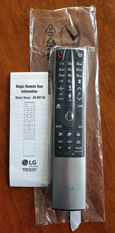 Meide AN-MR700 for LG TV Remote Control OOLED55E6PU OLED65W7P OLED65G6PU