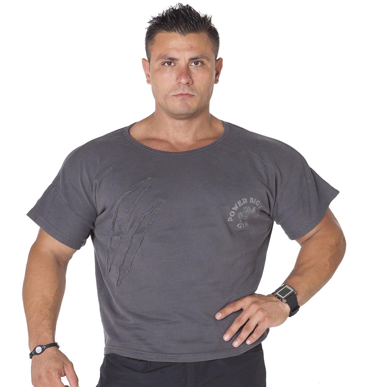 BIG SM EXTREME SPORTSWEAR Herren Ragtop Rag Top Sweater T-Shirt Bodybuilding 3004